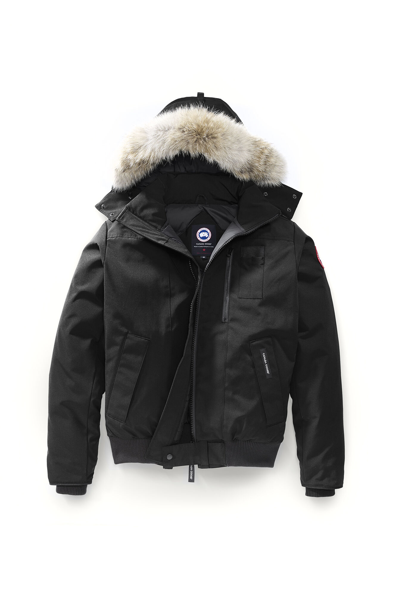 canada goose jacket zipper broke