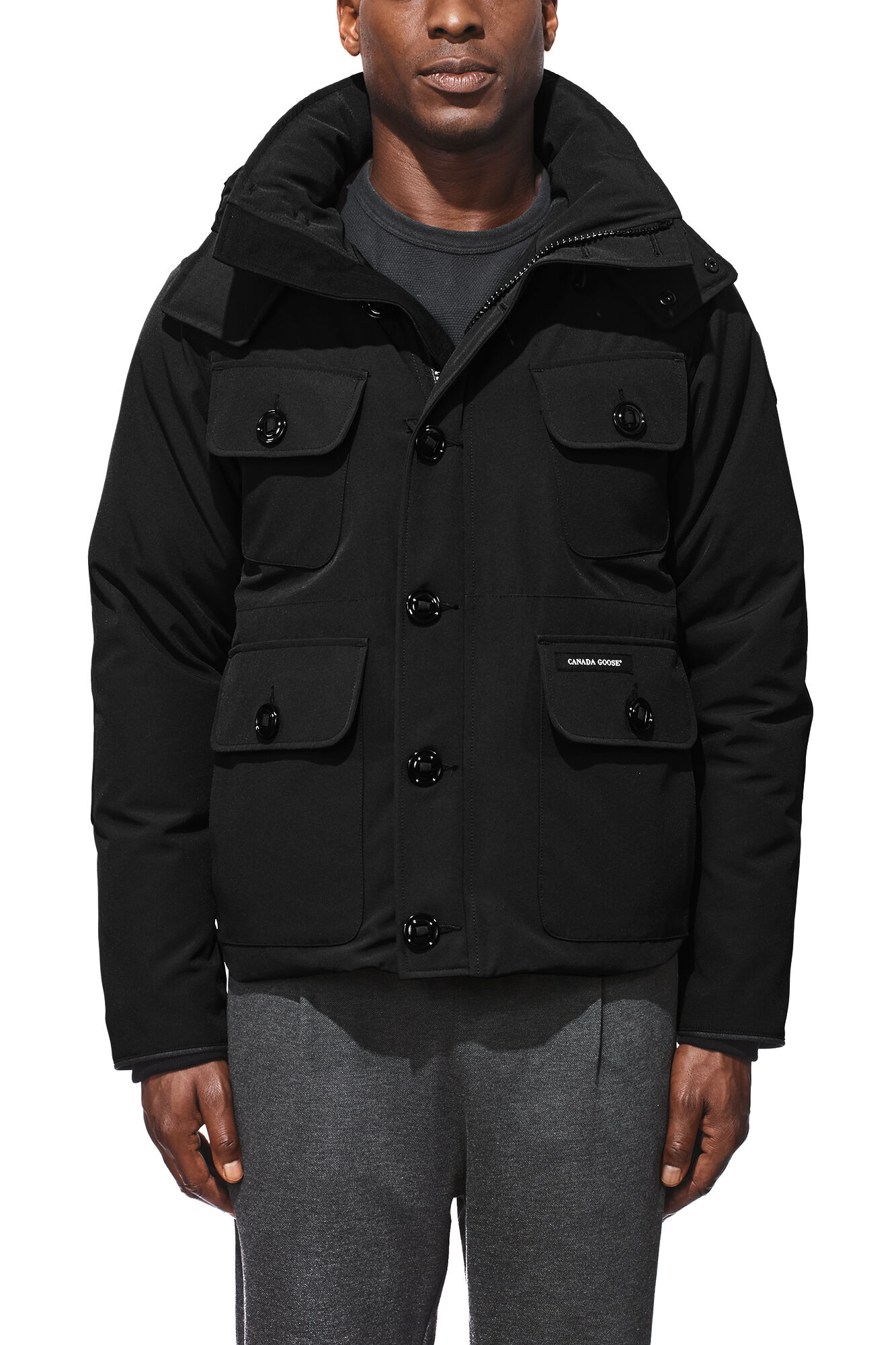 canada goose selkirk parka graphite