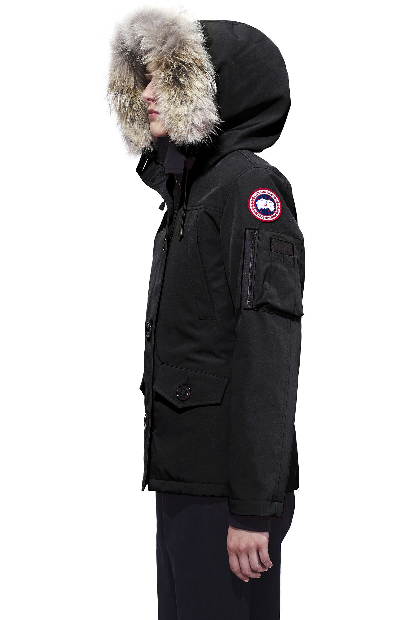 canada goose xs fit
