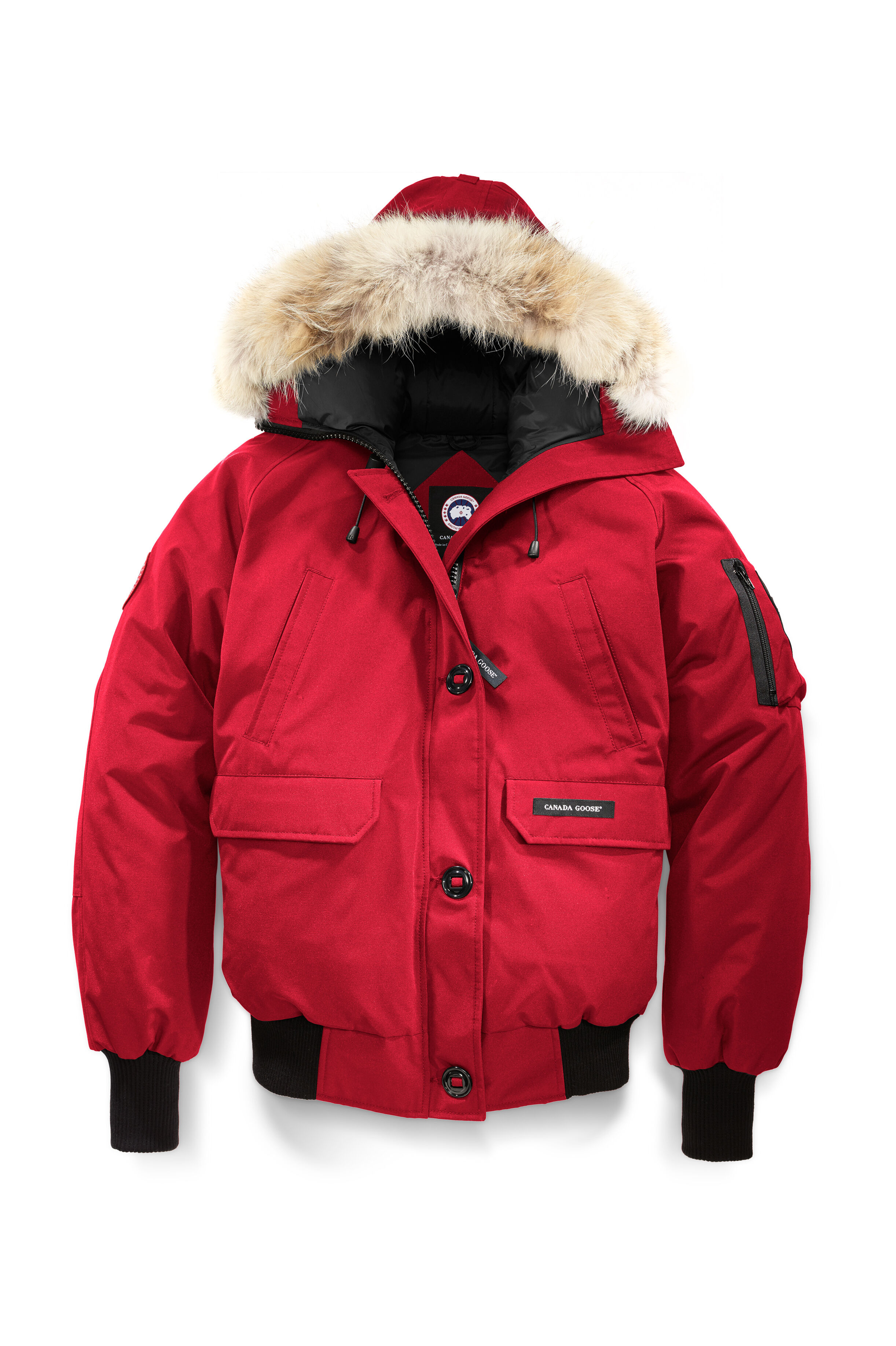 Red bomber jacket canada