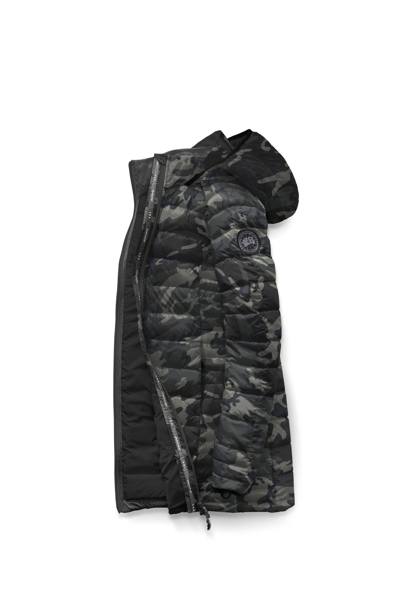 Brookvale Hooded Coat Black Label | Canada Goose®