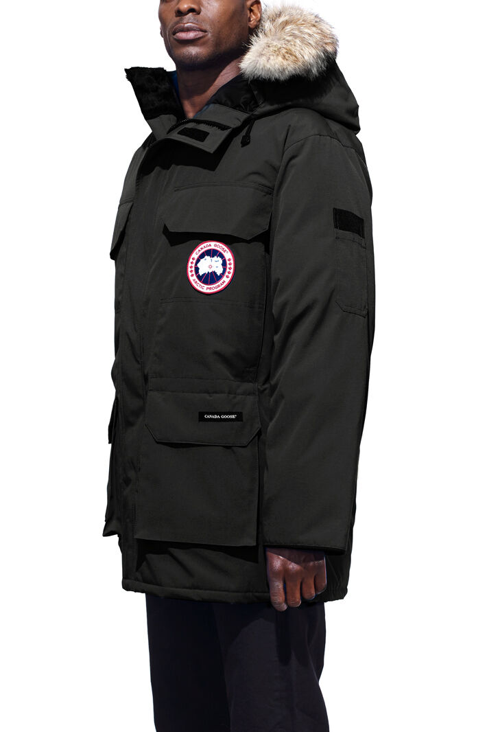 Mens parka coats with fur hood next