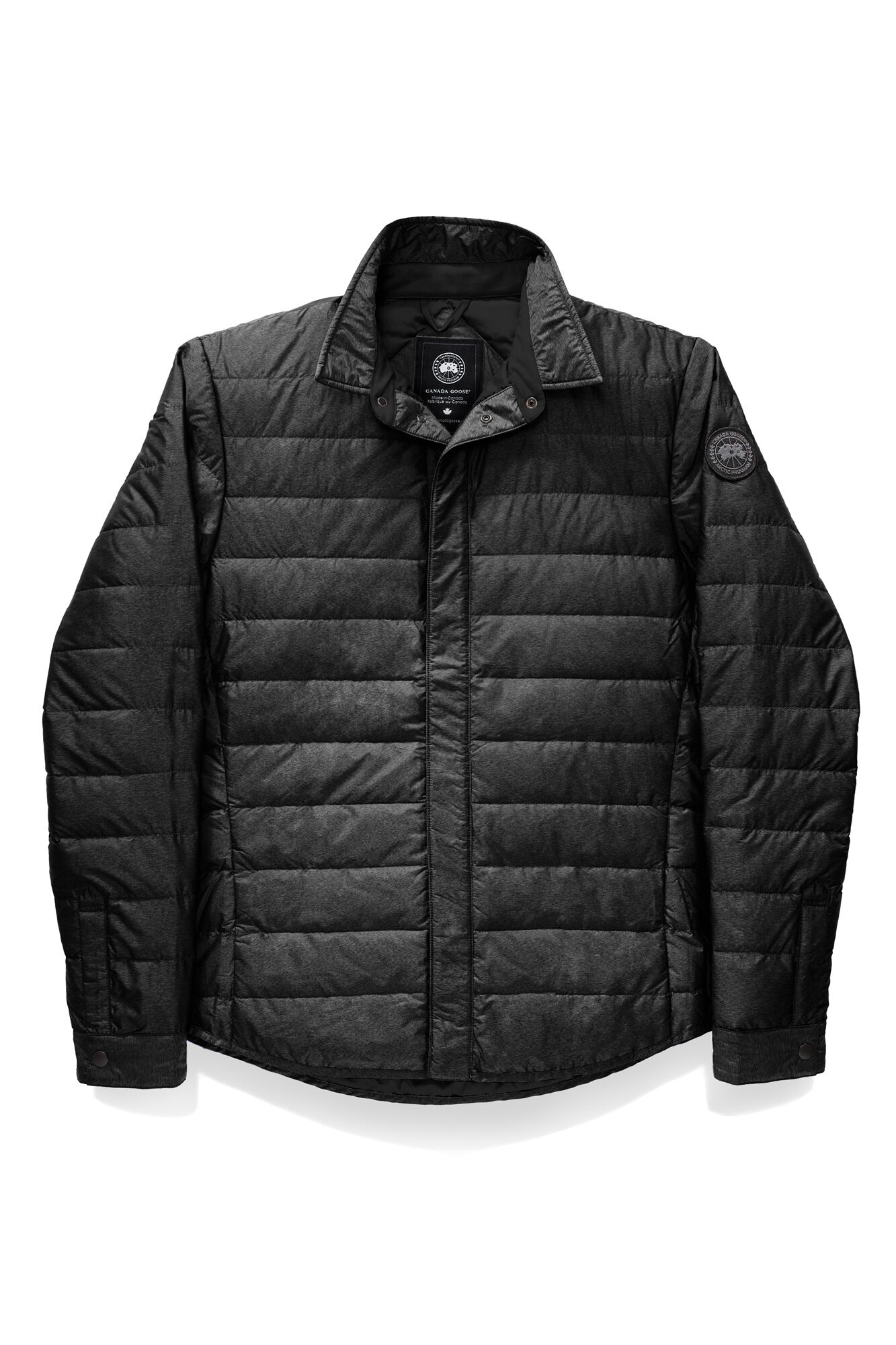 Black label grey jacket