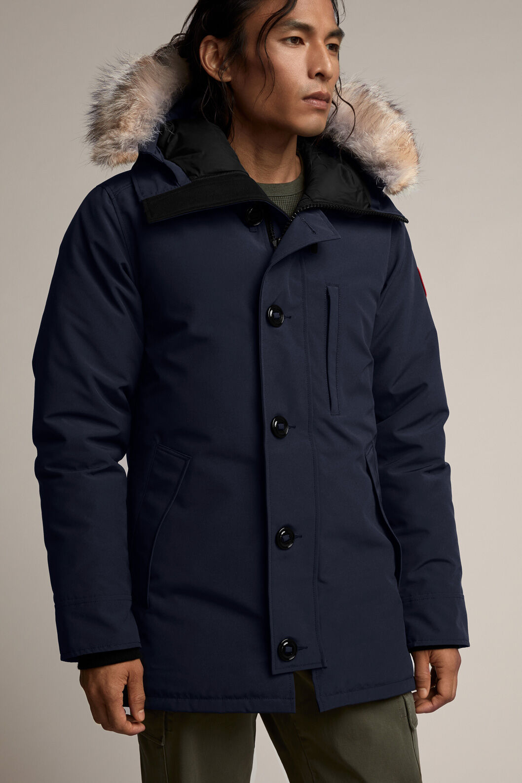 canada goose the chateau graphite down parka 3426m