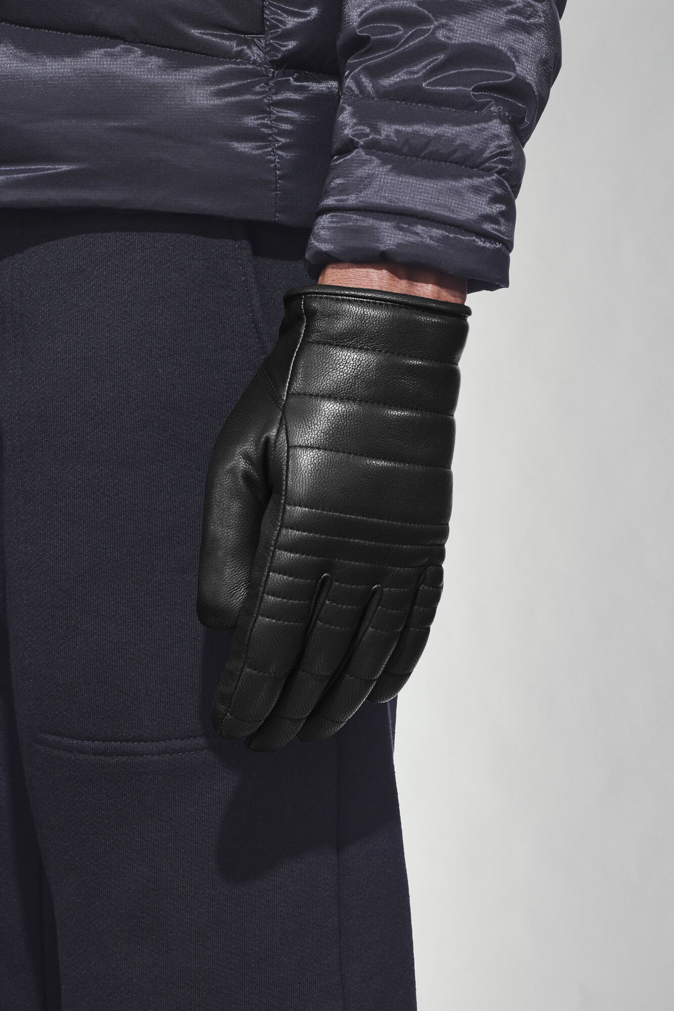 Men's Quilted Luxe Gloves | Canada Goose® : leather quilted gloves - Adamdwight.com