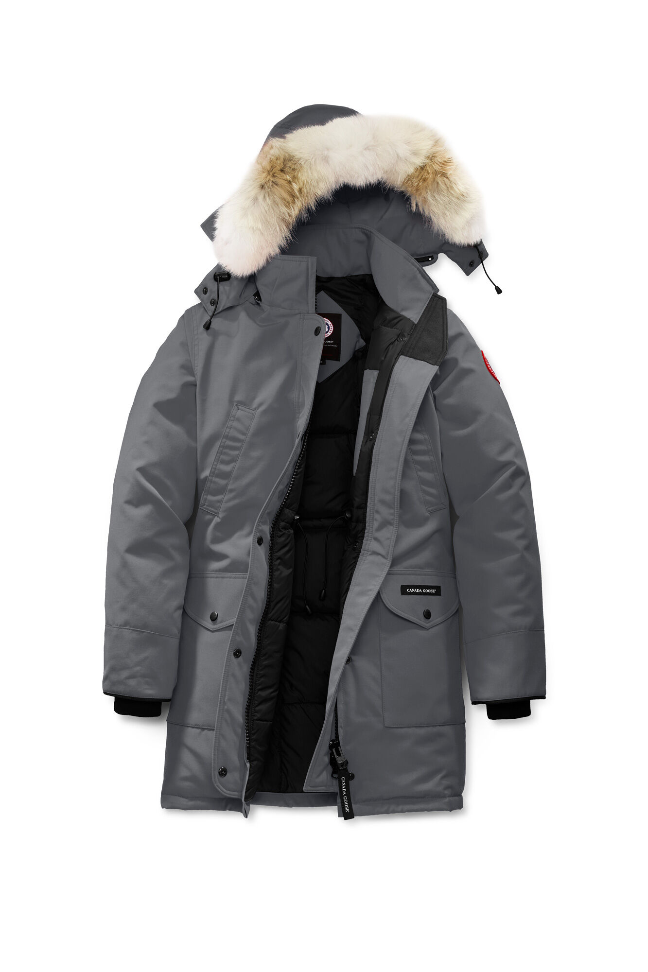 dark grey canada goose jacket