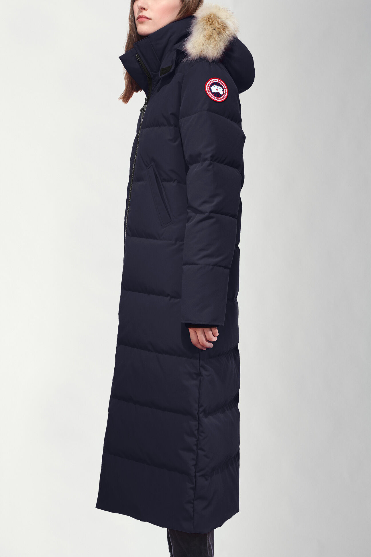 canada goose long winter jacket