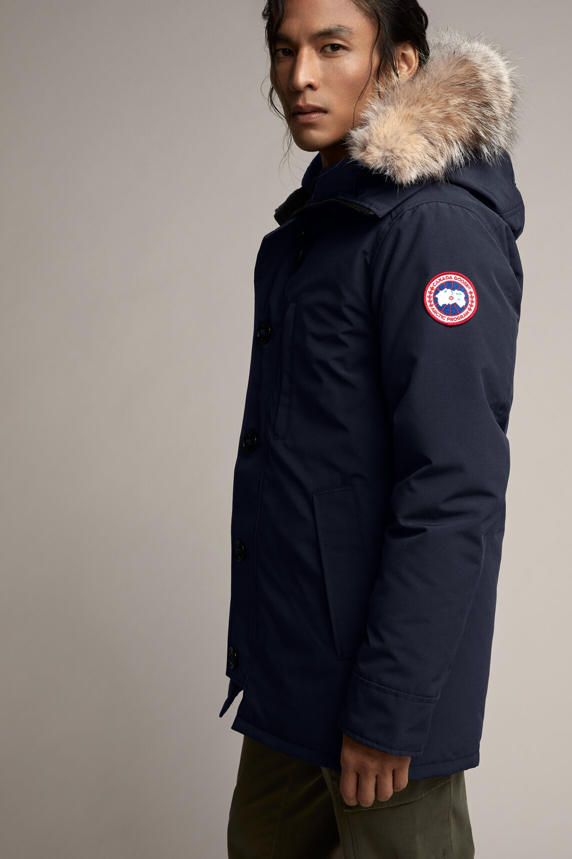 canada goose parka measurements