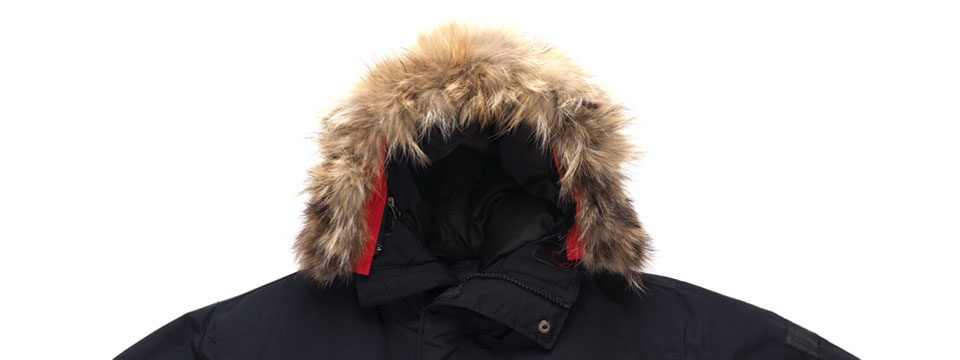 are canada goose jackets real fur