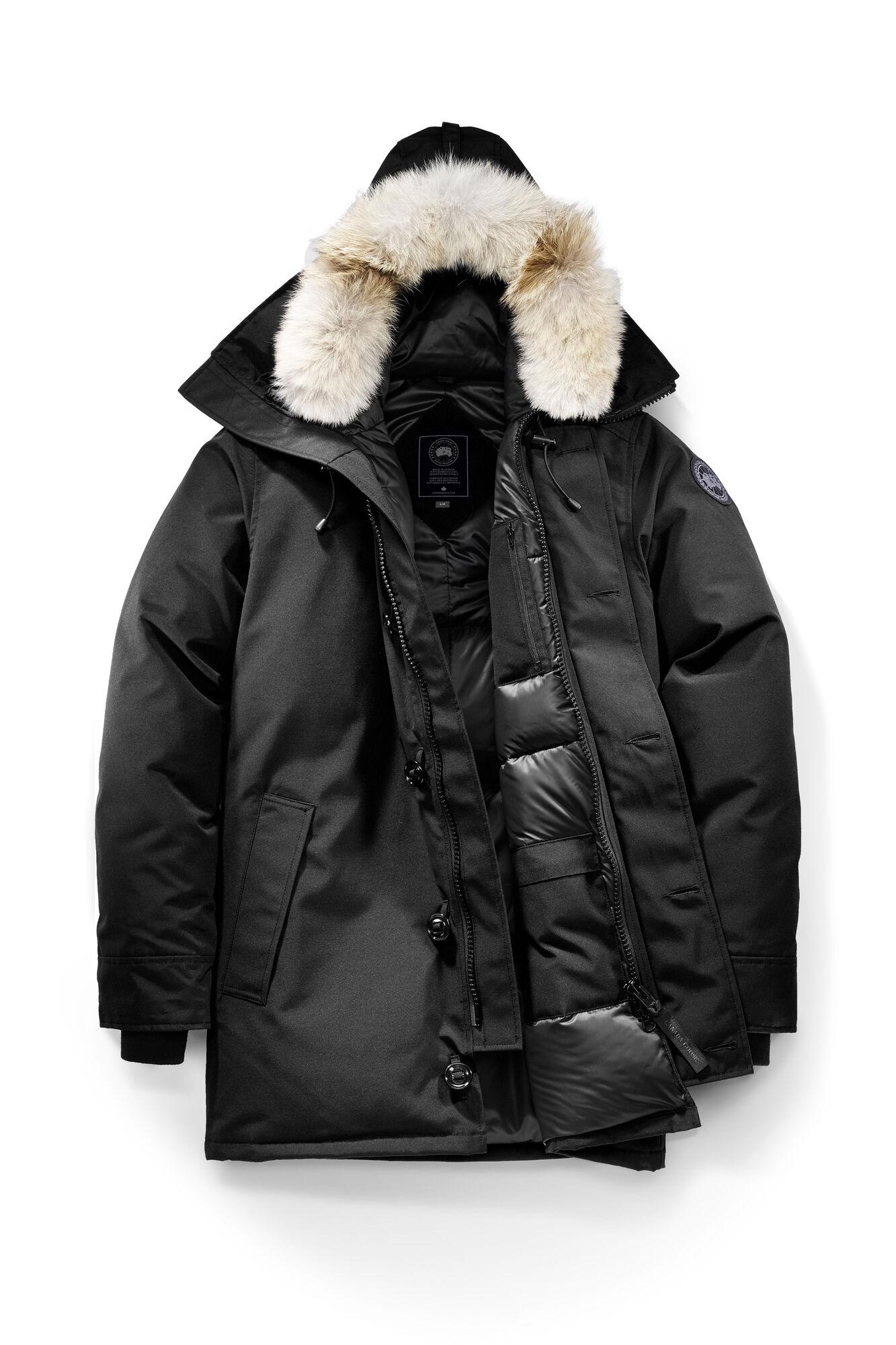 Black Canada Goose Coat