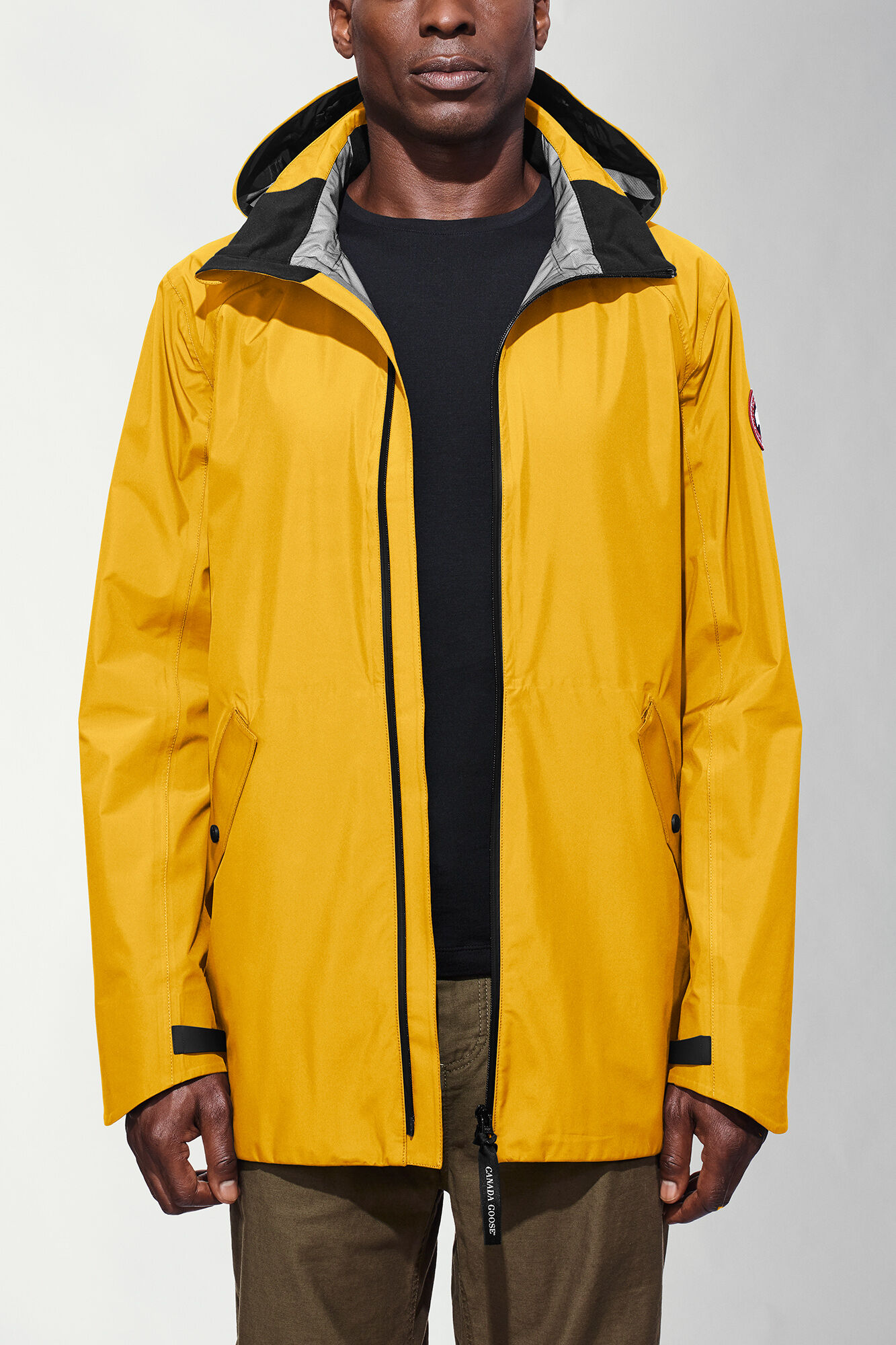 canada goose Lightweight Jackets Rain Yellow