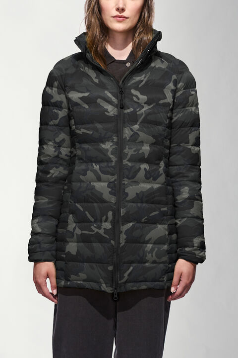 Brookvale Hooded Coat Black Label | Canada Goose