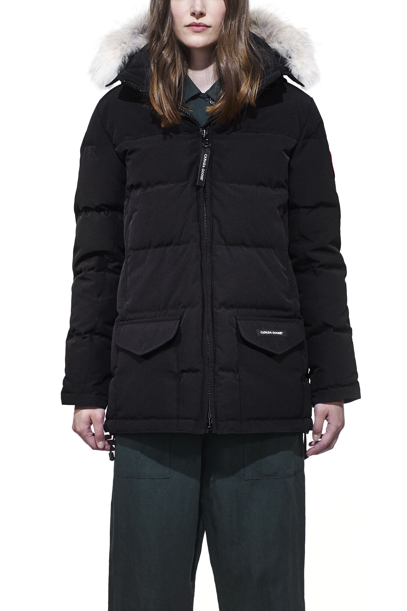 Canada Goose Jacka - Ladies Solaris Parka Black