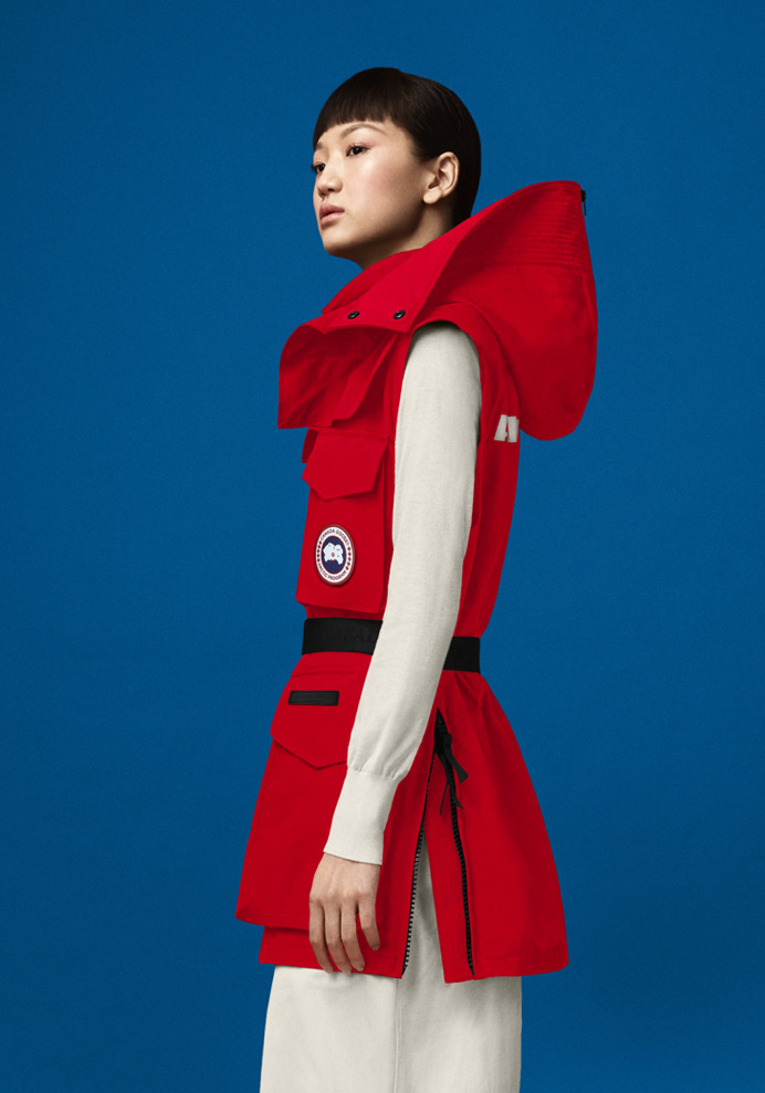 Chaka Vest – Fortune Red