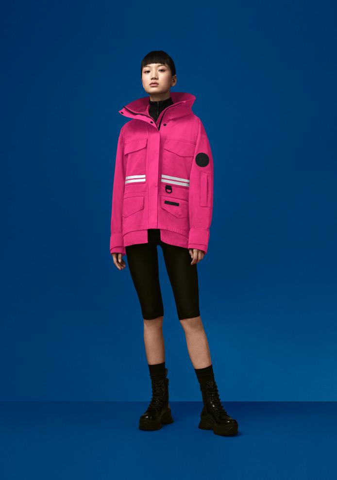 Mordaga Rain Jacket – Lotus Pink