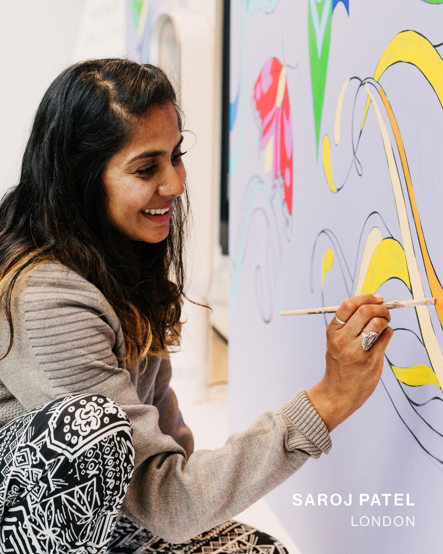 Canada Goose artist in residence Saroj