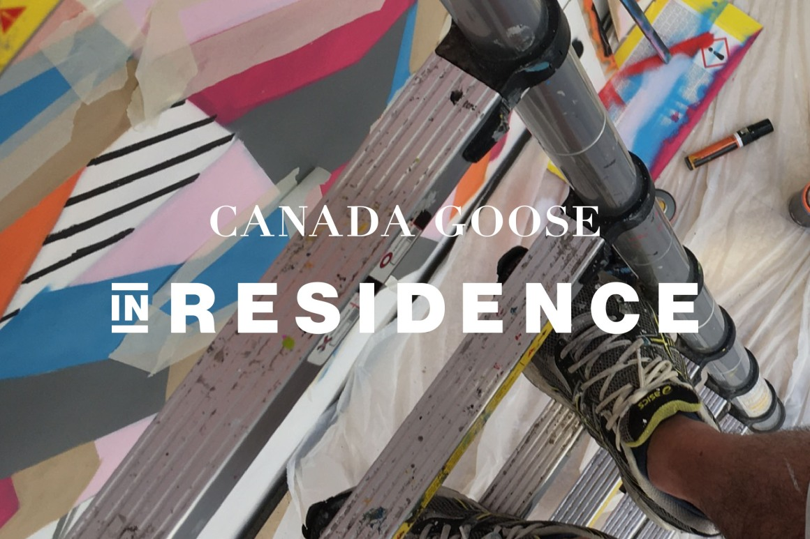 Canada Goose artist in residence program