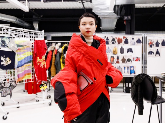 Angel Chen for Canada Goose