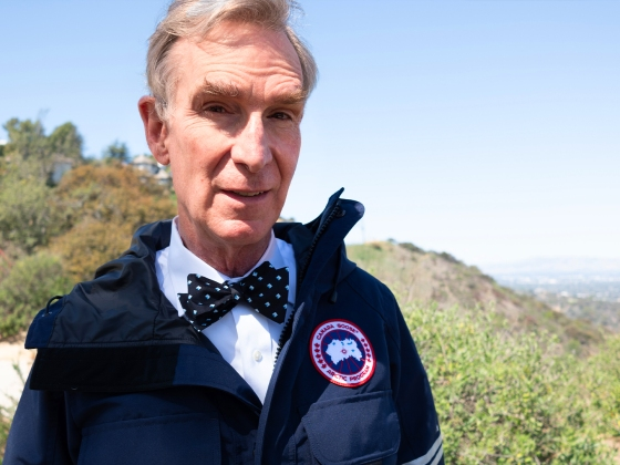 Bill Nye Partners with Canada Goose