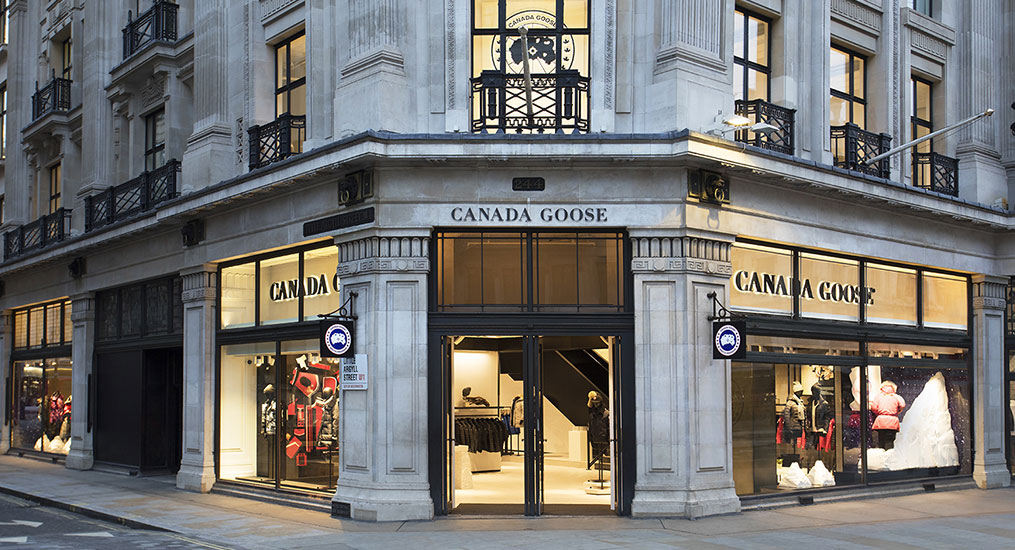 canada goose jacket in london