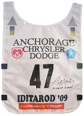 Iditarod 2009 Racing Bib
