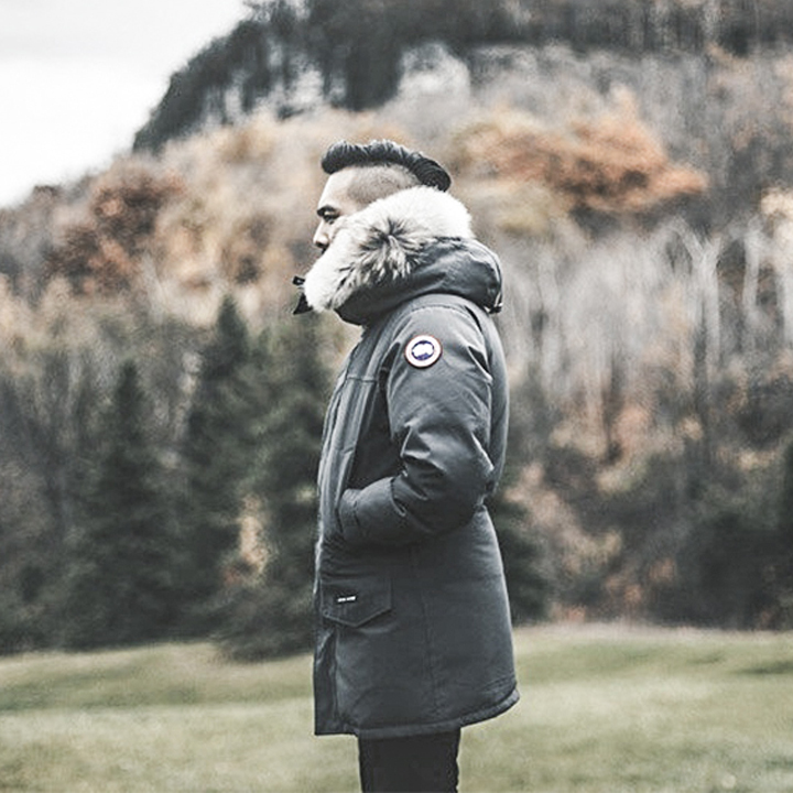 canada goose parka chateau black label