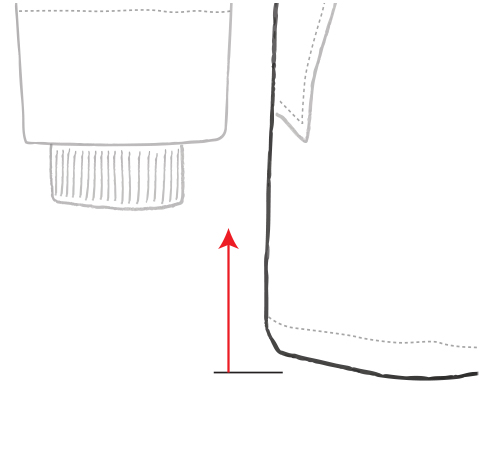 Shorter Hem Length