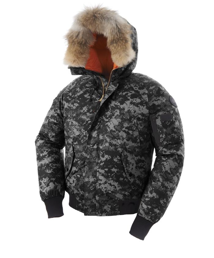 canada goose gilet with fur