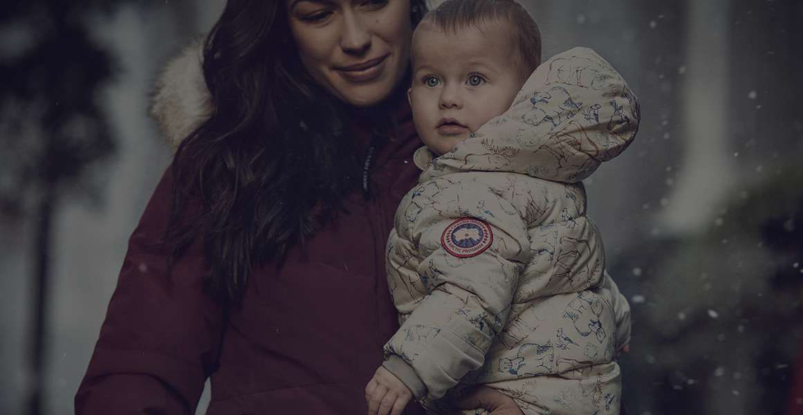 Canada Goose' kids online official