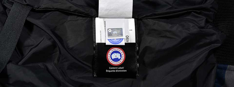 canada goose badge side