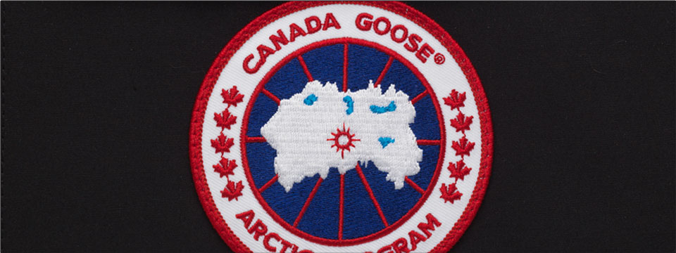 Canada Goose non-counterfeit logo patch
