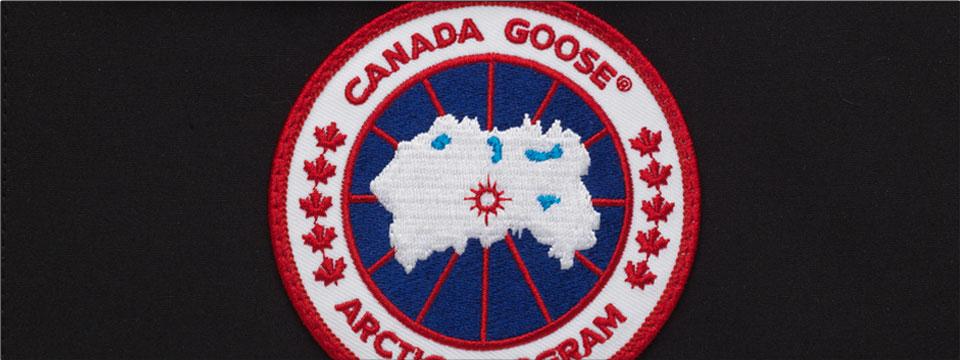 Toppa del logo non contraffatto di Canada Goose